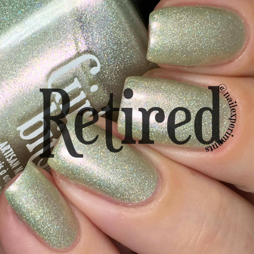 Girly Bits Cosmetics Let's Do This Again! (June 2017 CoTM)   Swatch courtesy of @nailexperiments