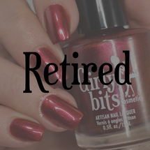 GIRLY BITS COSMETICS The Red Rocket {Indie Expo Canada EXCLUSIVE} | Swatch courtesy of Manicure Manifesto