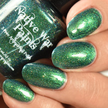 AVAILABLE AT GIRLY BITS COSMETICS www.girlybitscosmetics.com Multichrome Millionaire (The Nifty Shifty Collection) by Native War Paints | Swatch  provided by IG@rockyournails
