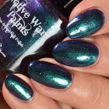 AVAILABLE AT GIRLY BITS COSMETICS www.girlybitscosmetics.com You Shifting Me?  (The Nifty Shifty Collection) by Native War Paints | Swatch  provided by IG@rockyournails