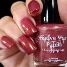 AVAILABLE AT GIRLY BITS COSMETICS www.girlybitscosmetics.com I'll Have a Manhattan (Limited  Edition) by Native War Paints | Swatch  provided by IG@hospitalhands