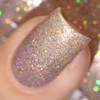 Girly Bits Cosmetics Sand of a Beach (July 2017 CoTM) | Swatch courtesy of Delishious Nails