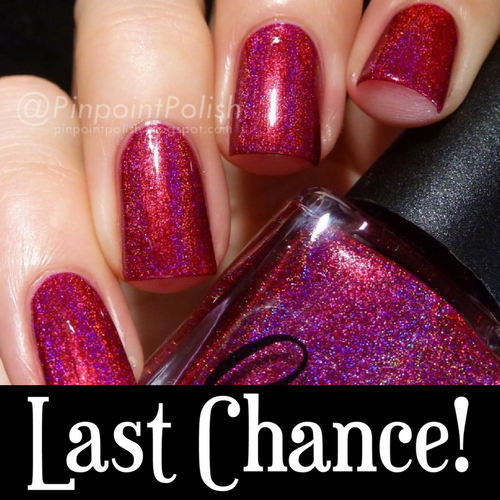 AVAILABLE AT GIRLY BITS COSMETICS www.girlybitscosmetics.com 976-Babe (Spring 2015 - Pretty Woman 25th Anniversary Collection) by Colors by Llarowe | Swatch courtesy of IG@pinpointpolish