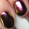 GIRLY BITS COSMETICS Conjure (SFX Multi-chrome Powder) | Swatch courtesy of The Polished Hippy