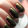 GIRLY BITS COSMETICS Conjure(SFX Multi-chrome Powder) | Swatch courtesy of The Polished Hippy
