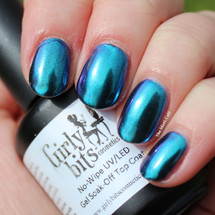GIRLY BITS COSMETICS Gaze (SFX Duo-chrome Powder) | Swatch courtesy of The Mani Cafe