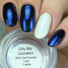 GIRLY BITS COSMETICS Lust (SFX Duo-chrome Powder) | Swatch courtesy of Nail Experiments