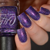 AVAILABLE AT GIRLY BITS COSMETICS www.girlybitscosmetics.com Fast Eddie's Bucket List (CbL Charity Polish) by Colors by Llarowe | Swatch courtesy of Delishious Nails