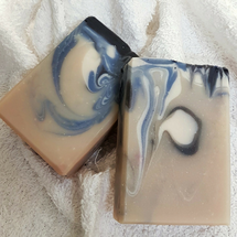 AVAILABLE AT GIRLY BITS COSMETICS www.girlybitscosmetics.com Like a Sir Artisan Soap by SoGa Artisan Soaperie