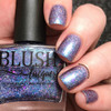 AVAILABLE AT GIRLY BITS COSMETICS www.girlybitscosmetics.com Bonne Chance (Summer Soiree Collection) by BLUSH Lacquers | Photo credit: @dsetterfield74