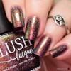 AVAILABLE AT GIRLY BITS COSMETICS www.girlybitscosmetics.com Escargot, Non? (Summer Soiree Collection) by BLUSH Lacquers | Photo credit: @polishandpaws