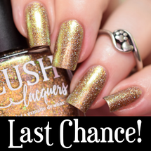AVAILABLE AT GIRLY BITS COSMETICS www.girlybitscosmetics.com Gilded Fawn (Summer Soiree Collection) by BLUSH Lacquers   Photo credit: @polishandpaws