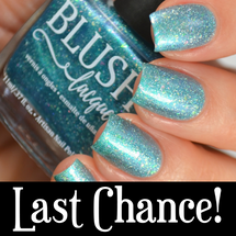 AVAILABLE AT GIRLY BITS COSMETICS www.girlybitscosmetics.com Le Petit Macaron (Summer Soiree Collection) by BLUSH Lacquers   Photo credit: @housewifenails