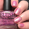 AVAILABLE AT GIRLY BITS COSMETICS www.girlybitscosmetics.com Raspberry Sorbet (Summer Soiree Collection) by BLUSH Lacquers | Photo credit: @dsetterfield74