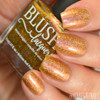 AVAILABLE AT GIRLY BITS COSMETICS www.girlybitscosmetics.com Rose Gold Garden (Summer Soiree Collection) by BLUSH Lacquers | Photo credit: @housewifenails
