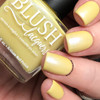 AVAILABLE AT GIRLY BITS COSMETICS www.girlybitscosmetics.com Banana Boat Float (Beach Bunny Collection) by BLUSH Lacquers | Photo credit: @dsetterfield74