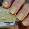 AVAILABLE AT GIRLY BITS COSMETICS www.girlybitscosmetics.com Banana Boat Float (Beach Bunny Collection) by BLUSH Lacquers | Photo credit: @housewifenails