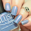 AVAILABLE AT GIRLY BITS COSMETICS www.girlybitscosmetics.com My Beach Umbrella-ella-ella (Beach Bunny Collection) by BLUSH Lacquers | Photo credit: @polishandpaws