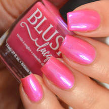 AVAILABLE AT GIRLY BITS COSMETICS www.girlybitscosmetics.com Teeny Weeny Pink Bikini (Beach Bunny Collection) by BLUSH Lacquers | Photo credit: @housewifenails