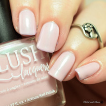 AVAILABLE AT GIRLY BITS COSMETICS www.girlybitscosmetics.com Vintage Vinyl (Beach Bunny Collection) by BLUSH Lacquers | Photo credit: @polishandpaws