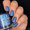 Girly Bits Cosmetics Let Me Azure You (CoTM August 2017) | Swatch courtesy of IG@honeybee_nails