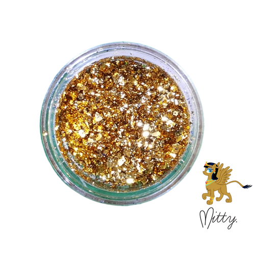AVAILABLE AT GIRLY BITS COSMETICS www.girlybitscosmetics.com Sands Shattered Flakes by Mitty