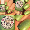 AVAILABLE AT GIRLY BITS COSMETICS www.girlybitscosmetics.com Luck Be The Daisy Tonight - LE (Love & Peace Collection) by Moo Moo's Signatures | Swatch courtesy of @ladyandthe_stamp