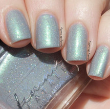 AVAILABLE AT GIRLY BITS COSMETICS www.girlybitscosmetics.com Ice Kissed Grove (Femme Fatale X Tonic Four Seasons Collaboration) by Femme Fatale | Swatch courtesy of @emilydemolly