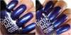 Girly Bits Cosmetics Keep Calm, Terry On (Crystal's Charity Lacquers) | Swatch courtesy of Intense Nail Therapy