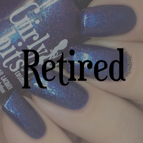 Girly Bits Cosmetics Keep Calm, Terry On (Crystal's Charity Lacquers) | Swatch courtesy of Nail Experiments