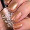 Girly Bits Cosmetics Butterbeer Latte (CoTM September 2017) | Swatch courtesy of The Dot Couture