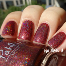 AVAILABLE AT GIRLY BITS COSMETICS www.girlybitscosmetics.com Dissolving Like the Setting Sun (The Hidden Door Collection) by Pahlish | Swatch  provided by Ida Nails It
