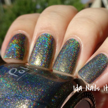 AVAILABLE AT GIRLY BITS COSMETICS www.girlybitscosmetics.com Ghost in my Lungs (The Hidden Door Collection) by Pahlish | Swatch  provided by Ida Nails It