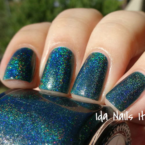 AVAILABLE AT GIRLY BITS COSMETICS www.girlybitscosmetics.com Storms and Saints (The Hidden Door Collection) by Pahlish | Swatch  provided by Ida Nails It