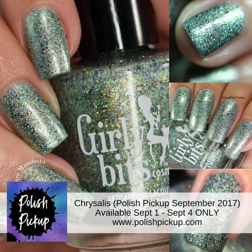 GIRLY BITS COSMETICS Chrysalis (Polish Pickup September 2017)
