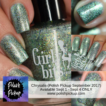 GIRLY BITS COSMETICS Chrysalis (Polish Pickup September 2017)