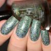 GIRLY BITS COSMETICS Chrysalis (Polish Pickup September 2017)  | Swatch courtesy of Delishious Nails