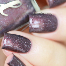 AVAILABLE AT GIRLY BITS COSMETICS www.girlybitscosmetics.com Dusk Dazzle from the Oxymora Trio with Fashion Polish by Femme Fatale | Swatch courtesy of Fashion Polish