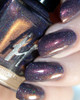 AVAILABLE AT GIRLY BITS COSMETICS www.girlybitscosmetics.com Dusk Dazzle from the Oxymora Trio with Fashion Polish by Femme Fatale | Swatch courtesy of @glitterfingersss