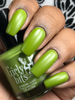 GIRLY BITS COSMETICS It's Near Leaf All with a matte top coat (Fall 2017 Collection) | Photo courtesy of Queen of Nails 83