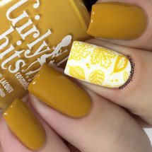 GIRLY BITS COSMETICS Butternut Leave Me (Fall 2017 Collection) | Swatch courtesy of Nail Experiments