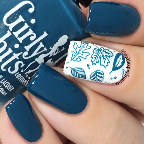GIRLY BITS COSMETICS Sea You Next Fall (Fall 2017 Collection)   Swatch courtesy of Nail Experiments