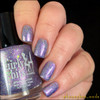 GIRLY BITS COSMETICS Where the Sky Ends (Girly Bits/Femme Fatale Collaboration) | Photo courtesy of IG@Heneybee_Nails