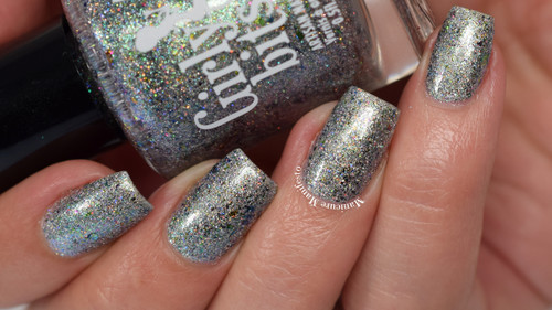 GIRLY BITS COSMETICS Aussie What You Did There (Girly Bits/Femme Fatale Collaboration)   Swatch courtesy of Manicure Manifesto