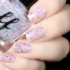 AVAILABLE AT GIRLY BITS COSMETICS www.girlybitscosmetics.com Violet Fire (Girly Bits/Femme Fatale Collab) by Femme Fatale | Swatch courtesy of De Briz