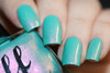 AVAILABLE AT GIRLY BITS COSMETICS www.girlybitscosmetics.com Arctic Crystal (Girly Bits/Femme Fatale Collab) by Femme Fatale | Swatch courtesy of Chrissys Lackwahnsinn