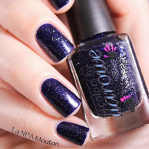 AVAILABLE AT GIRLY BITS COSMETICS www.girlybitscosmetics.com Twinkle, Twinkle Little Star (The Glitters Collection) by Colors by Llarowe | Swatch courtesy of NPA Mouton