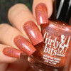 Girly Bits Cosmetics No Pumpkin Way (October 2017 CoTM) | Swatch by Delishious Nails