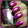 AVAILABLE AT GIRLY BITS COSMETICS www.girlybitscosmetics.com Courage, Brains, Heart (The Holos Collection) by Colors by Llarowe | Swatch courtesy of Pointless Cafe