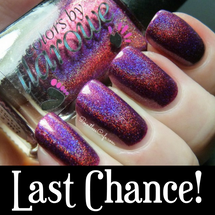 AVAILABLE AT GIRLY BITS COSMETICS www.girlybitscosmetics.com Dirty Diana (The Holos Collection) by Colors by Llarowe | Swatch courtesy of Pointless Cafe